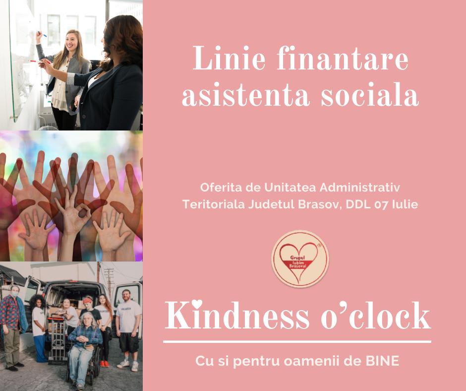 Consiliul Judetean Brasov a deschis linia de finantare pentru proiectele de asistenta sociala.